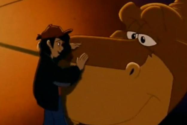 Louie et Rex (Les Quatre Dinosaures et le Cirque magique)