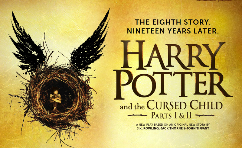 """L'affiche de la pièce """"Harry Potter and the Cursed Child"""""""