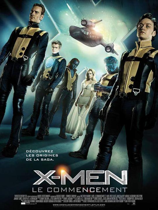 Numéro 7 : X-Men: Le Commencement - 353,62 millions de dollars de recettes dans le monde