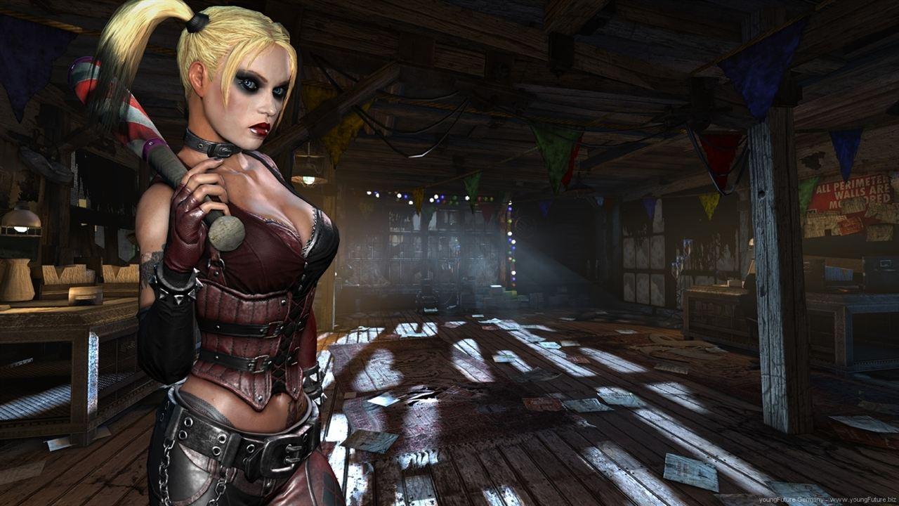 12a77c8dfa51 Harley Quinn dans le jeu