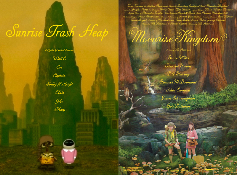 "Quand ""WALL-E"" rencontre ""Moonrise Kingdom"""