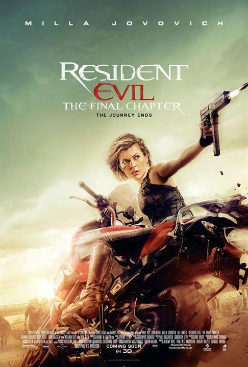 Resident Evil : Milla Jovovich s'affiche