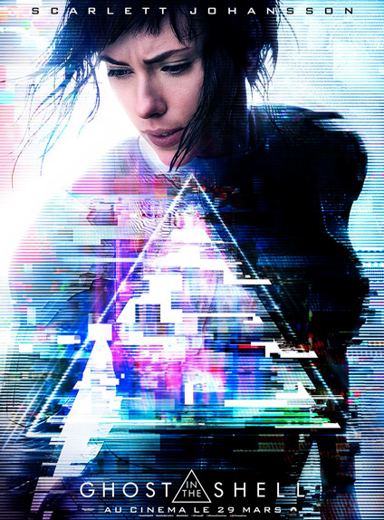 Ghost In The Shell - Sortie le 29 mars 2017