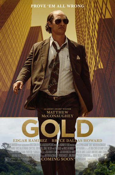"""Gold"" avec Matthew McConaughey - Prochainement"
