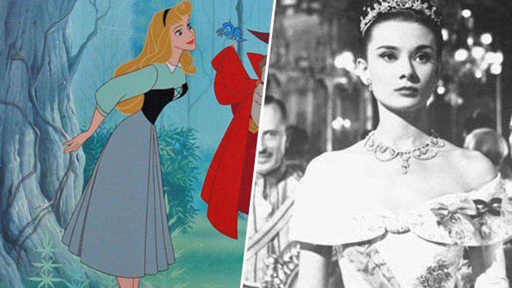 Aurore (La belle au bois dormant), inspirée par Audrey Hepburn