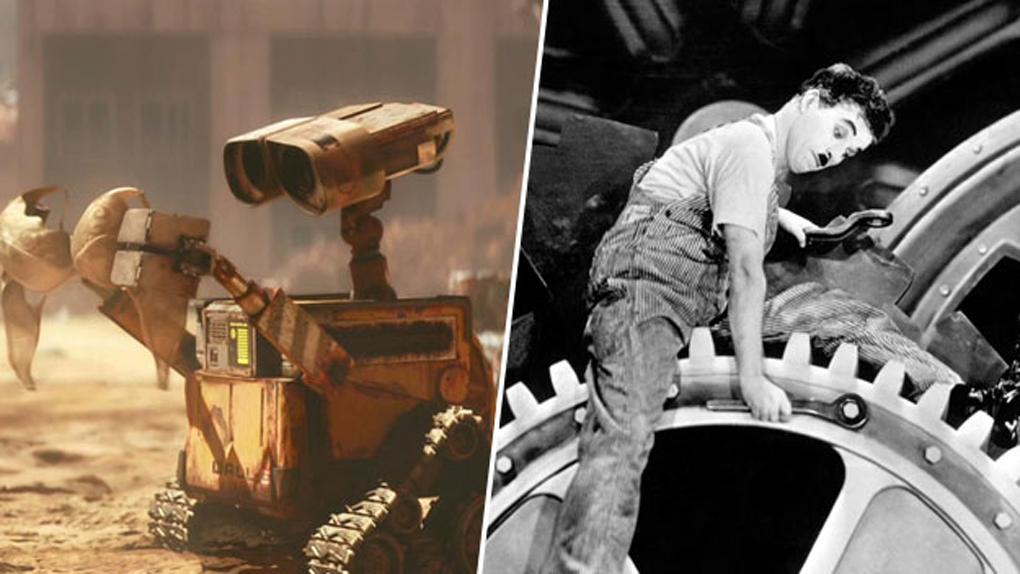 WALL-E, inspiré par Charlie Chaplin