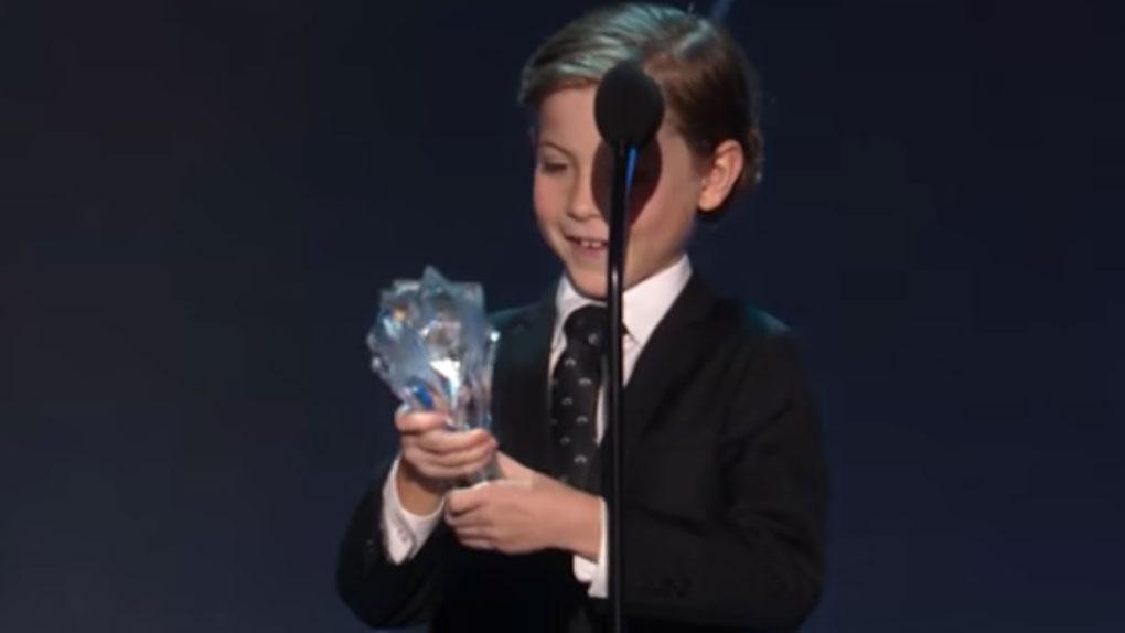 """Le speech """"cute"""" de l'année : Jacob Tremblay"""