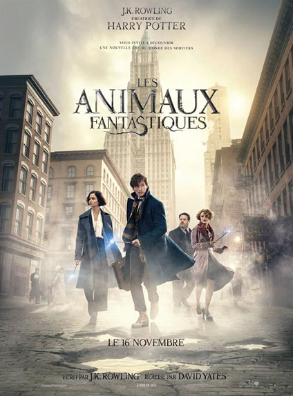 N°4 - Les Animaux Fantastiques : 308 460 entrées