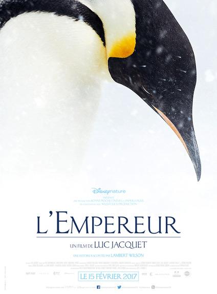 L'Empereur de Luc Jacquet - Sortie le 15 février 2017