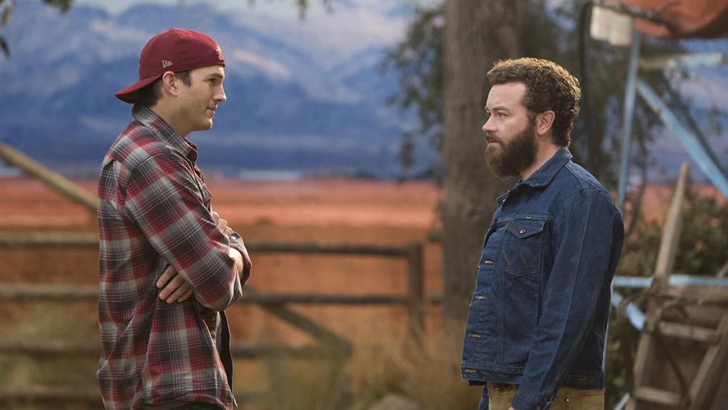 Les retrouvailles de l'année : Ashton Kutcher et Danny Masterson (The Ranch)