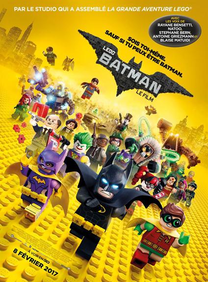 N°5 - Lego Batman, Le Film : 7,8 millions de dollars de recettes