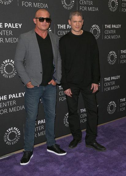 Wentworth Miller et Dominic Purcell, le duo de choc de Prison Break.