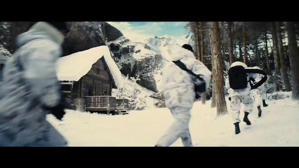 Une scène pré-générique à la neige ?