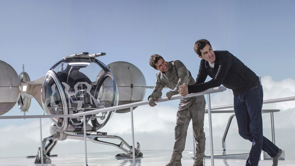 Tom Cruise et le réalisateur Joseph Kosinski