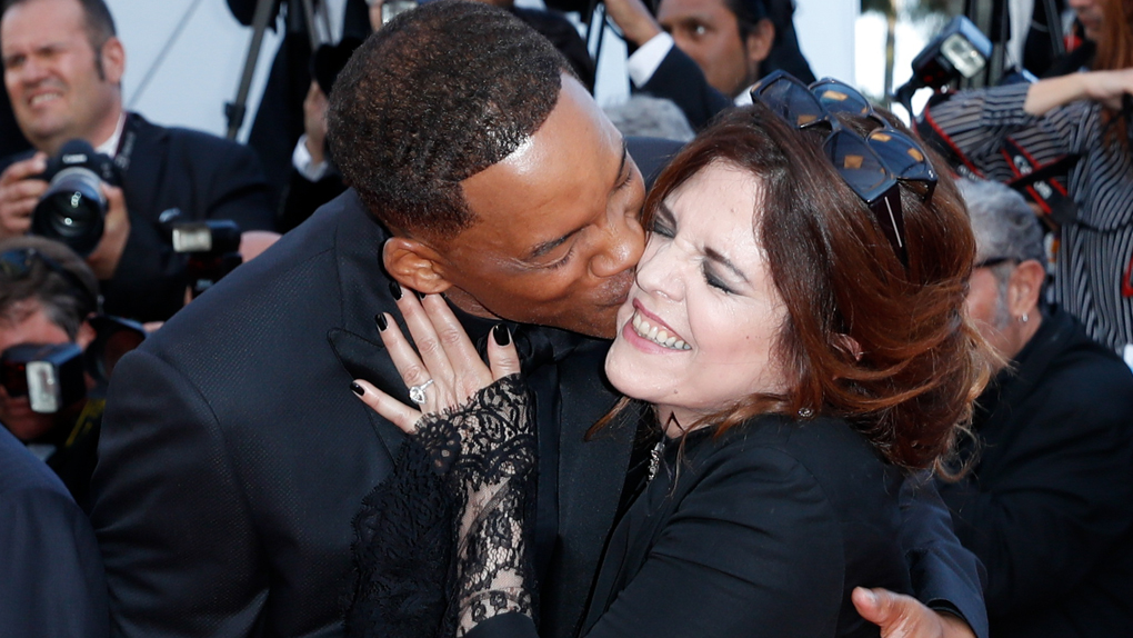 Will Smith et Agnès Jaoui, inséparables