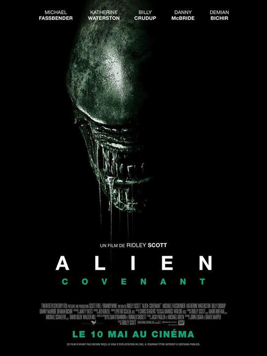 N°4 - Alien Covenant : 10,55 millions de dollars de recettes