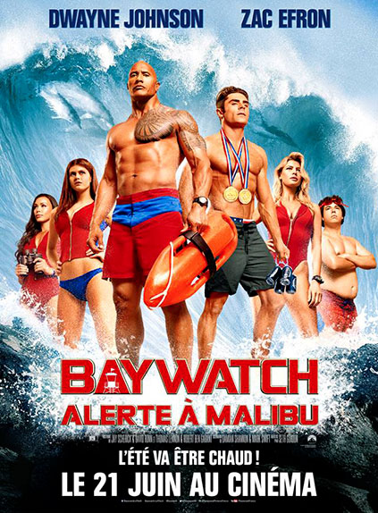 N°3 - Baywatch Alerte à Malibu : 18,57 millions de dollars de recettes