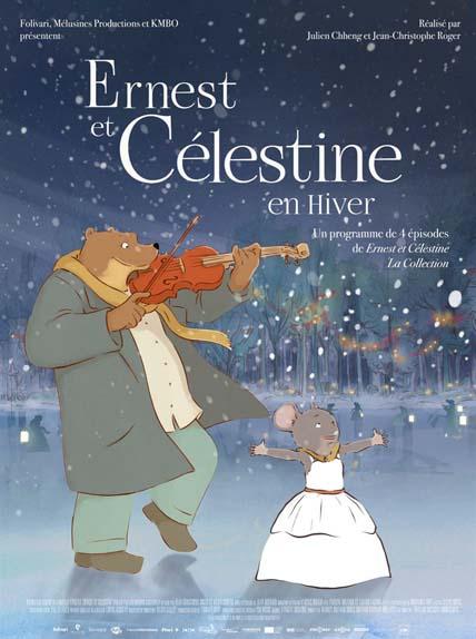 """""""Ernest et Célestine en hiver"""" avec les voix de Pauline Brunner, Xavier Fagnon, Raphaëline Goupilleau ..."""