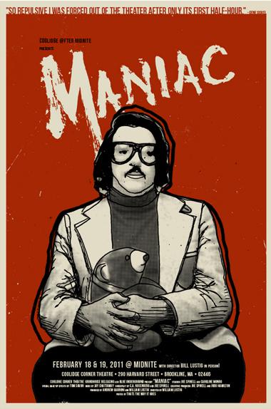 Maniac - Affiche réalisée par Derek Gabryszak