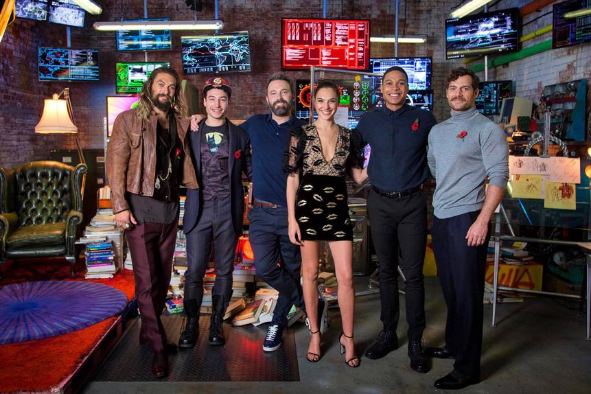 La Justice League vous attend chez Flash