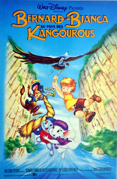 1991 - Bernard et Bianca au pays des kangourous