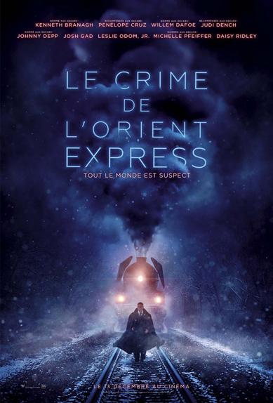 N°5 - Le Crime de l'Orient-Express : 13,8 millions de dollars de recettes