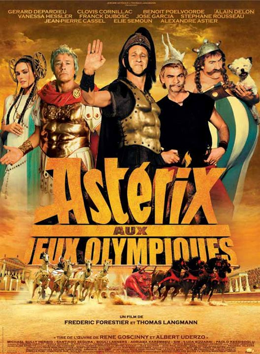 #12 - Astérix aux Jeux Olympiques (2008)