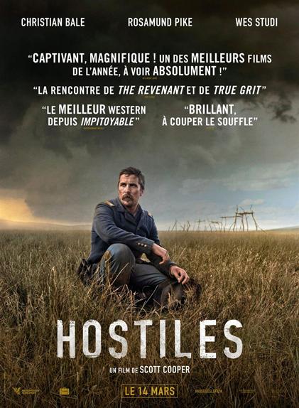 N°5 - Hostiles : 5,5 millions de dollars de recettes