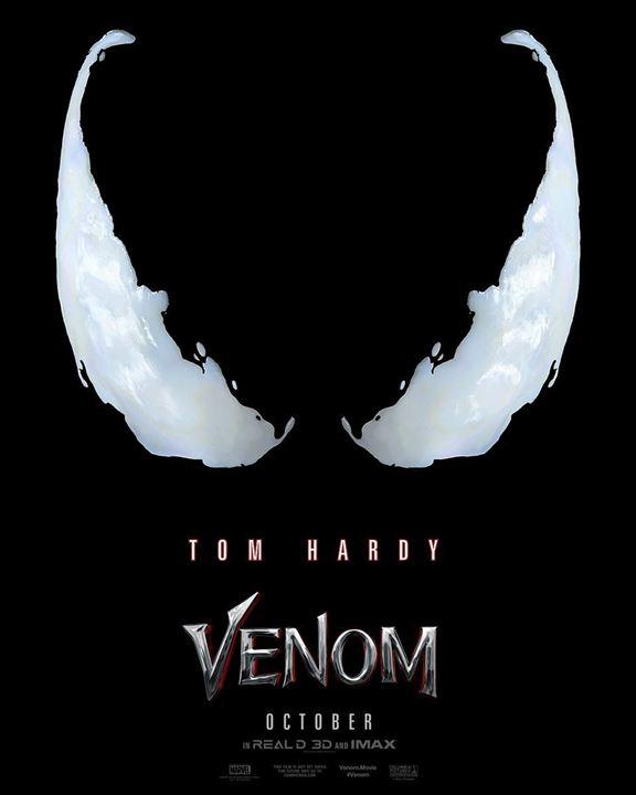 """La première affiche de """"Venom"""""""