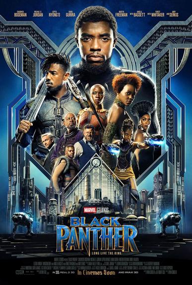 N°1 - Black Panther : 108 millions de dollars de recettes