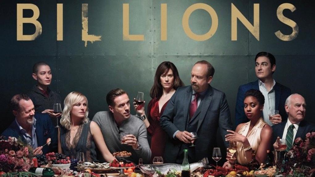 """Affiche de la saison 3 de la série """"Billions"""""""