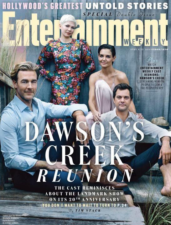 La couverture événément d'EW pour les 20 ans de Dawson