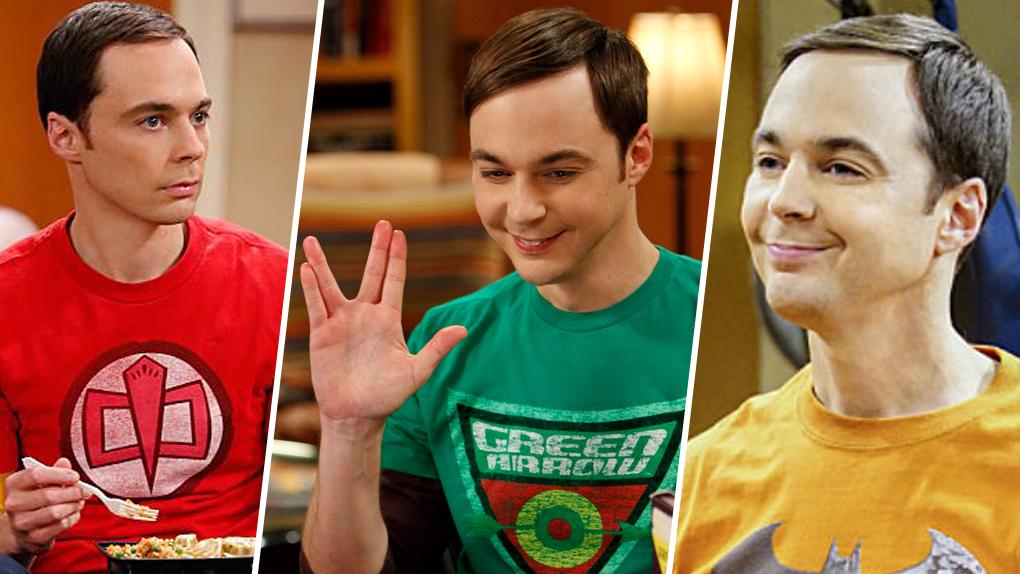 La couleur des T-Shirt de Sheldon traduit ses émotions