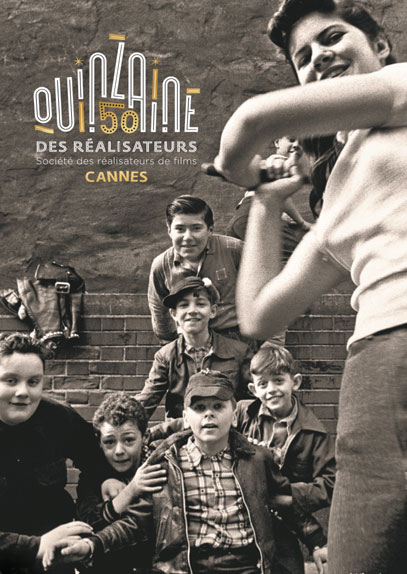 L'affiche de la 50e édition de la Quinzaine des Réalisateurs