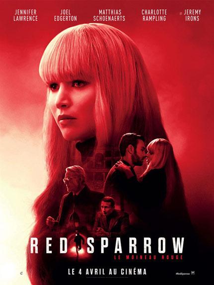 N°4 - Red Sparrow : 231 629 entrées