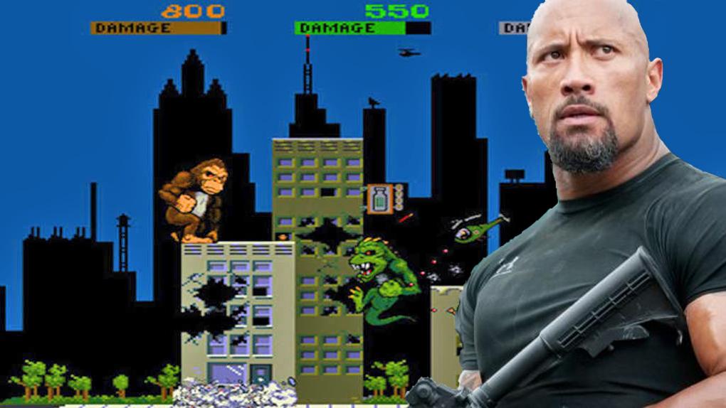 Rampage – Dwayne Johnson casse la gueule à un jeu vidéo