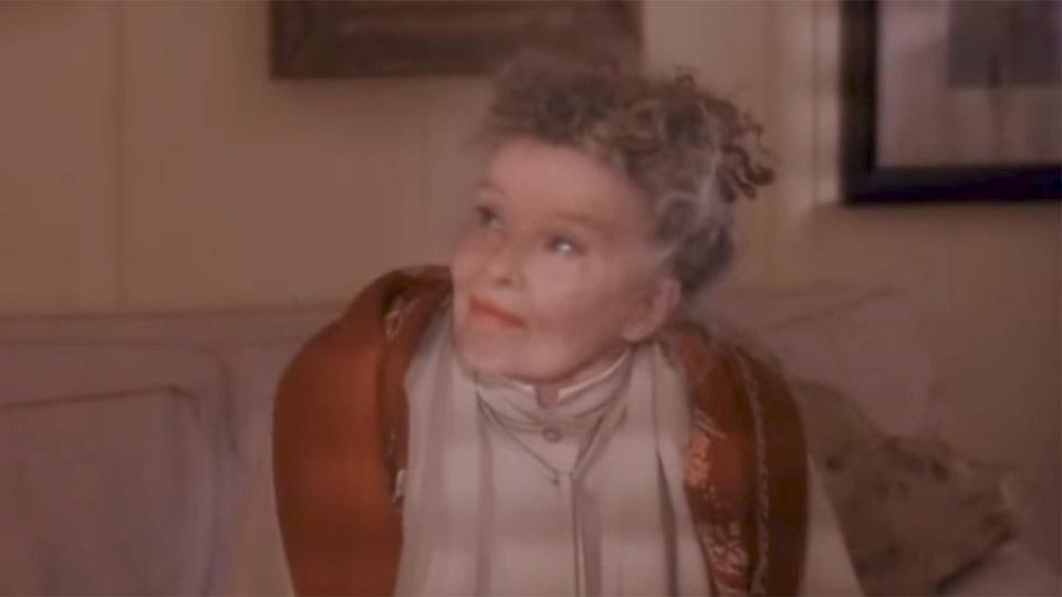 Katharine Hepburn à 86 ans