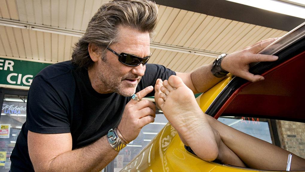"""Dans le petit monde de Tarantino"" - les pieds de Rosario Dawson"