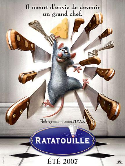 N°10 - Ratatouille : 7 860 899 entrées