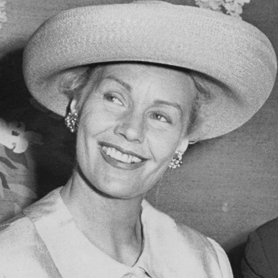 Frances Farmer en mai 1964