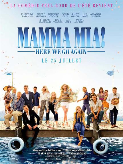 N°2 - Mamma Mia! Here We Go Again : 15 millions de dollars de recettes