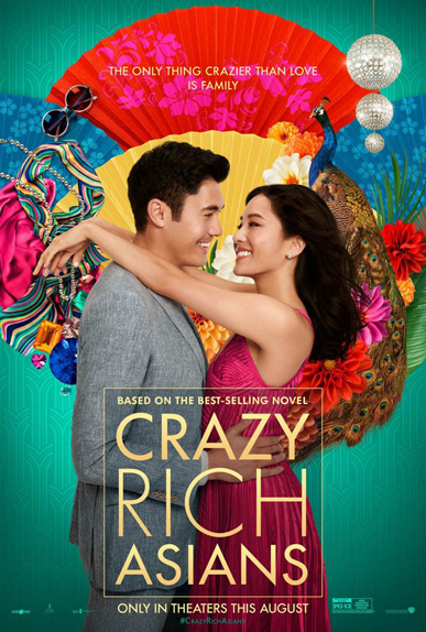 N°1 - Crazy Rich Asians : 25,23 millions de dollars de recettes