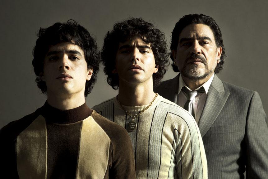 Les trois visages de Diego Maradona