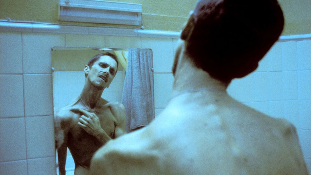 "Christian Bale dans ""The Machinist"""