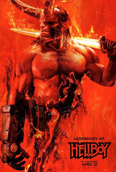 La première affiche de Hellboy de Neil Marshall