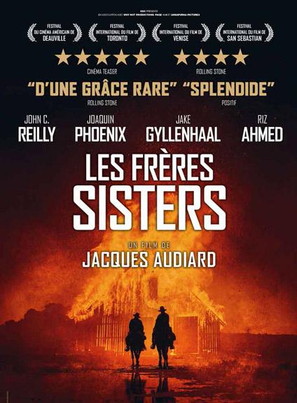N°5 - Les Frères Sisters : 146 572 entrées