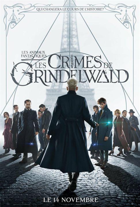 Les Animaux fantastiques : Les crimes de Grindelwald avec Eddie Redmayne, Katherine Waterston...