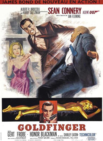 #3 - GOLDFINGER (1965) : 3,8/5