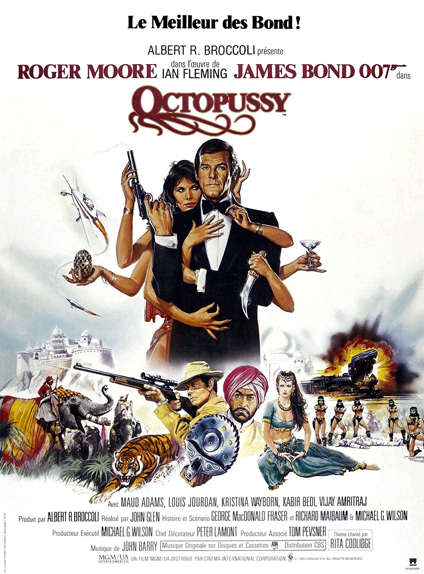 #12 - OCTOPUSSY (1983) : 3,2/5