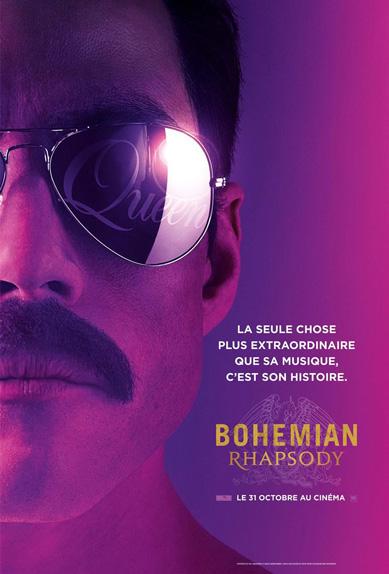 N°5 - Bohemian Rhapsody : 8,1 millions de dollars de recettes